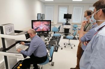 Symulator do szkolenia z zakresu wykonywania zabiegów chirurgicznych przy użyciu robota DA VINCI® w IPCZD