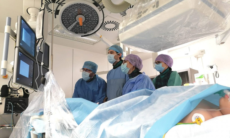 Zabiegi embolizacji wybranych łagodnych guzów wątroby u dzieci w IPCZD